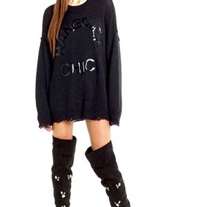 NWT Wildfox Hangover Cure Sweater